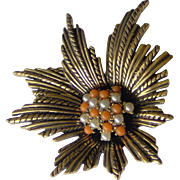 Floral Brooch by Avon