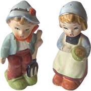Boy and Girl salt and pepper shakers