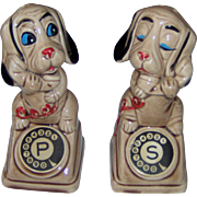 Dogs Talking on the Telephone salt and pepper shakers
