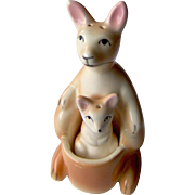 Mama and Baby Kangaroo salt and pepper shakers
