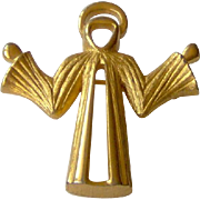 Angel brooch signed D'ORLAN