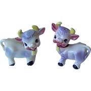Cute little cows salt and pepper shakers