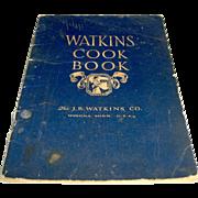 Vintage 1930 Watkins Cook Book