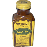 Watkins Acotin Tablets Bottle