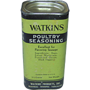 Watkins Poultry Seasoning