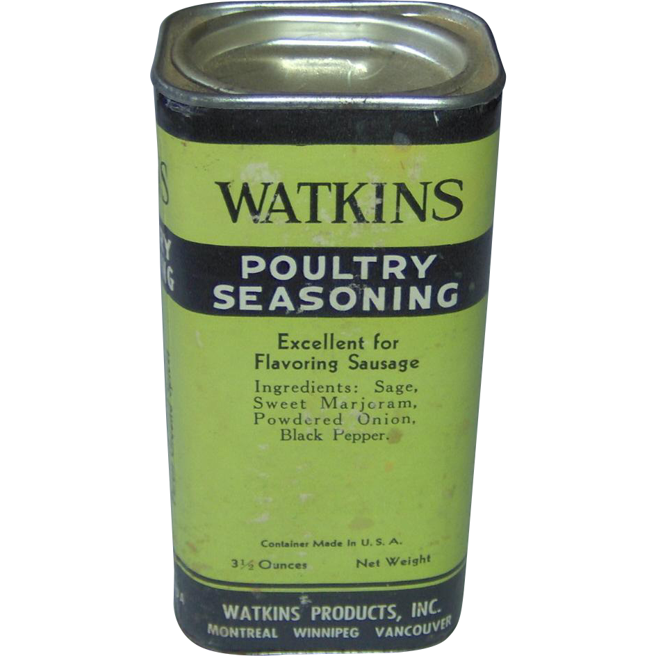 Watkins Poultry Seasoning From Shopwithelaine On Ruby Lane