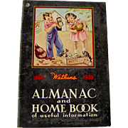 1939 Watkins Almanac and Home Book of useful information