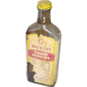 Watkins Cough Medicine bottle