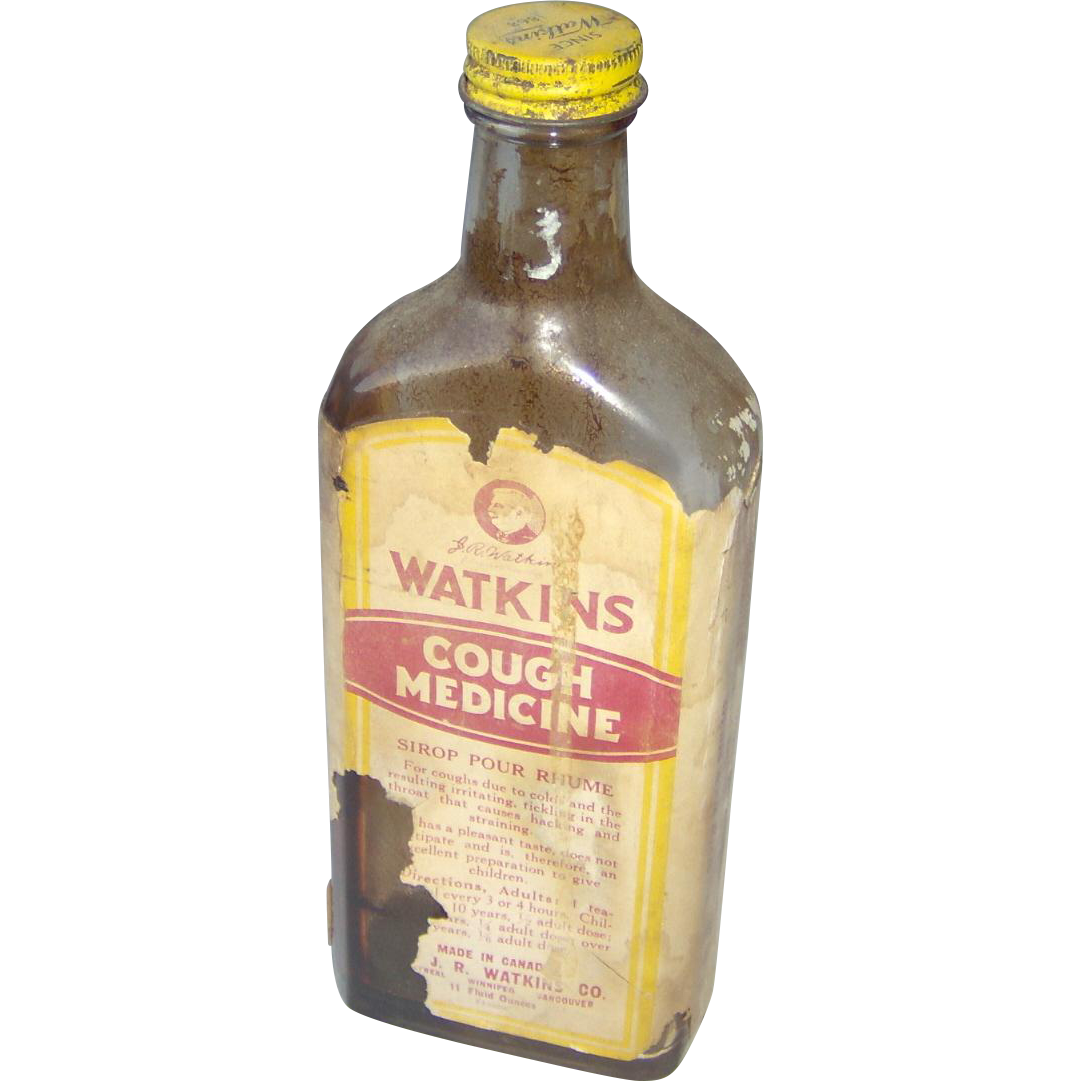 Watkins Cough Medicine bottle