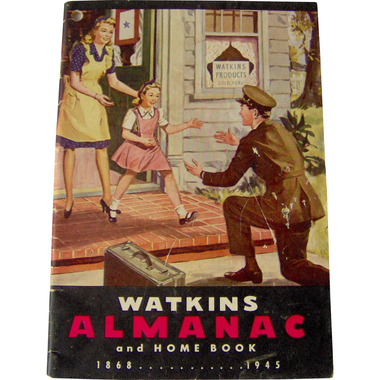 1945 Watkins Almanac and Home Book