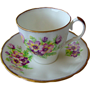 Floral Cup and Saucer by Jason