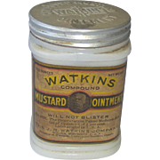 Watkins Mustard Ointment