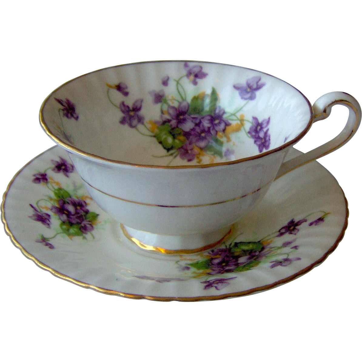 Paragon Floral Cup and Saucer