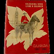 Canada 1867 - 1967 Coloring Book