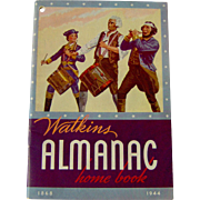 1944 Watkins Almanac Home Book