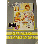 1937 Watkins Almanac Home Book
