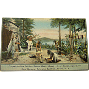 Iroquois Indian Exhibit - Seneca Hunters Group