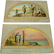 Iroquois Indian Exhibit - Postcards
