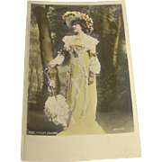Vintage Postcard of Miss Margot Erskine