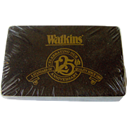 Vintage Watkins 125th Anniversary Playing Cards