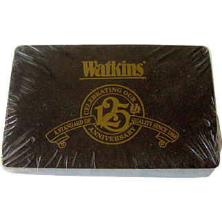 Watkins 125th Anniversary Playing Cards