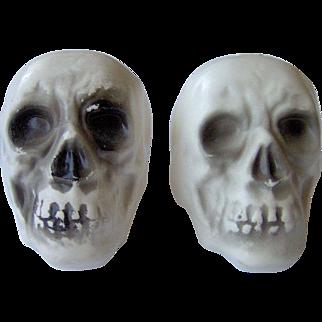 Skull shaped Salt and Pepper Shakers