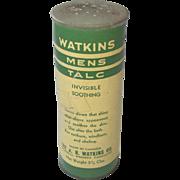 J. R. Watkins Mens Talc