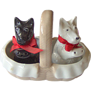 Vintage Scottie Dog Salt and Pepper Shakers