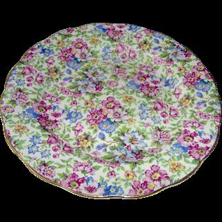Vintage Royal Standard Chintz Plate