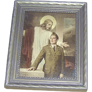 Framed Print - That Men May Live - by C. Bosseron Chambers