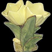 Vintage McCoy Double Tulip Vase