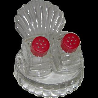 Vintage Turkey Fan Tail salt and pepper shakers