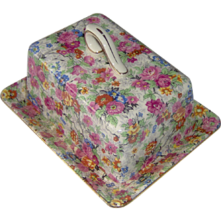 Vintage Cheese or Butter Dish Marina by Lord Nelson