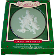 Vintage Norman Rockwell Cameo Ornament