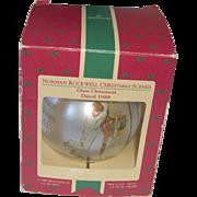 Vintage Hallmark Norman Rockwell ornament 1988