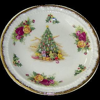 Vintage Old Country Roses Christmas Magic Dish by Royal Albert