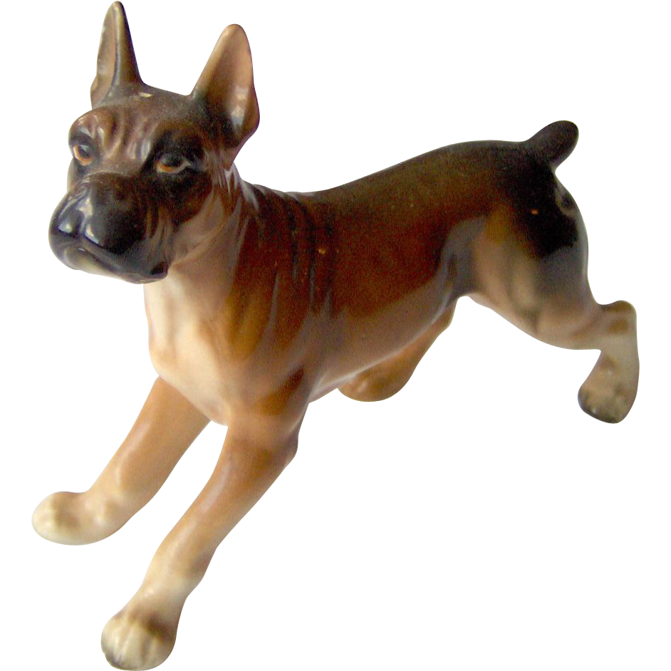 Vintage Dog Figurine