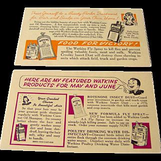 Watkins Salesman Postcards