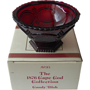 Vintage Avon Cape Cod Candy Dish