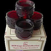 Vintage Avon Cape Cod Napkin Rings