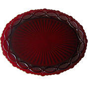 Vintage Avon Cape Cod Oval Platter
