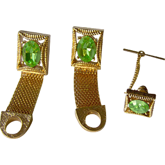 Vintage Cufflinks and tie pin set