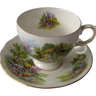 Vintage Royal Vale cup and saucer
