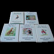 Vintage Beatrix Potter Books