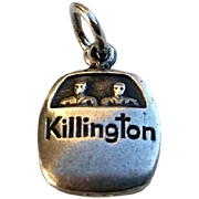Vintage Sterling KILLINGTON Vt Ski Lift Gondola Charm