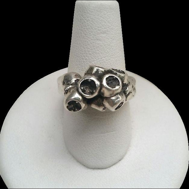 EBH Denmark Sterling BRUTALIST Ring