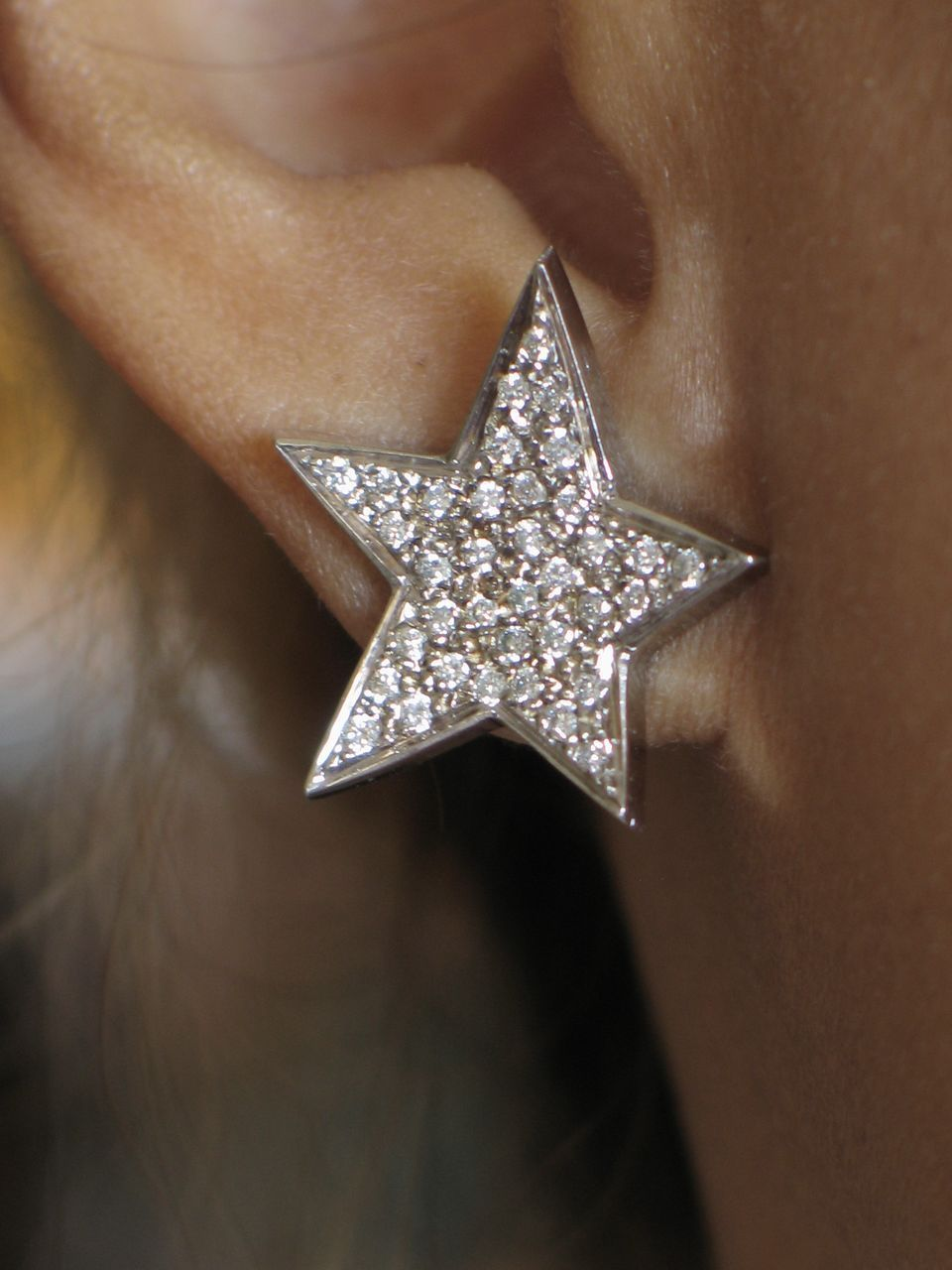 shop earrings by citrine michal golan collection diamond large