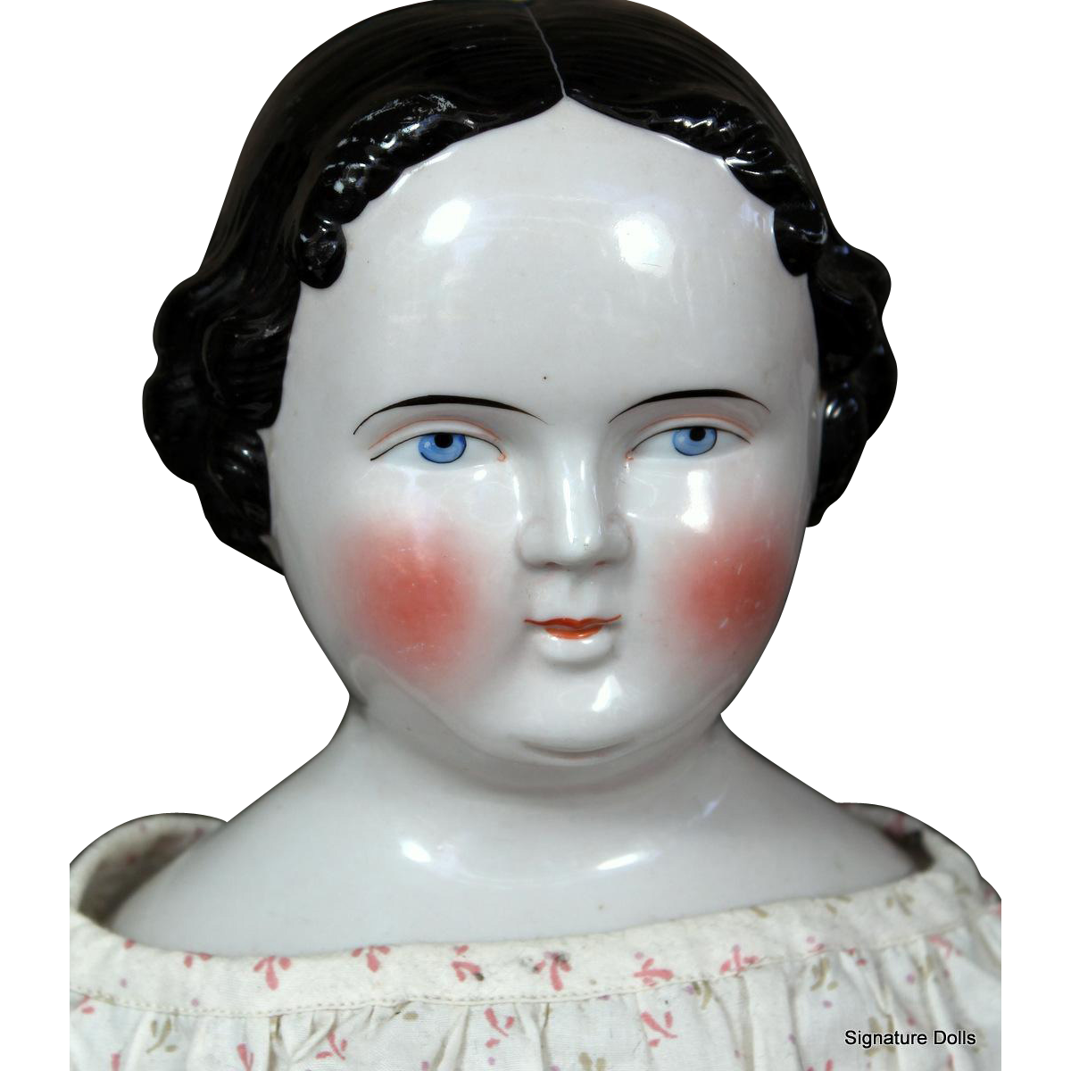 "25"" Kestner China Doll ~ Antique Cloth Body"