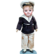 SFBJ 60 Bebe Incassable in GREAT Sailor Outfit, Mint Complexion