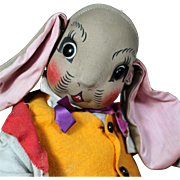 Uncle Wiggily Cloth Character Doll by Georgene Averill